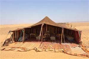 Beduin tält