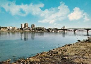 Tigris genom Bagdad