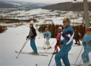 Skidor sälen