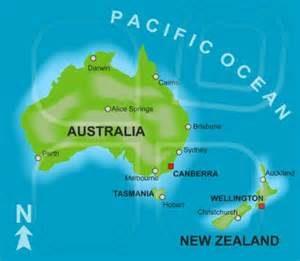 Australien Nya Zealand